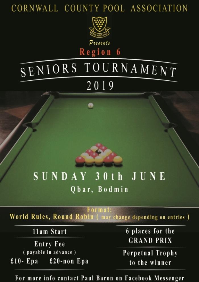 EPA Region 6 Seniors Tournament