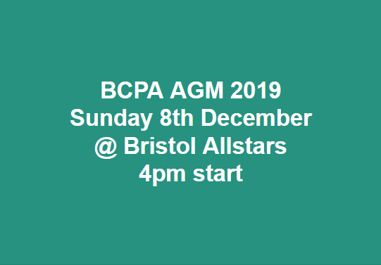 Bristol County Pool Association 2019 AGM